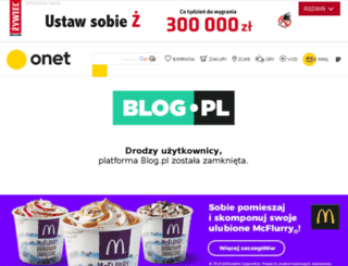 mamowo-mi.blog.pl screenshot