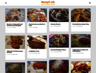mampf-mit.de screenshot