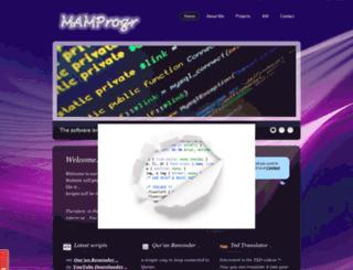 mamprogr.net screenshot