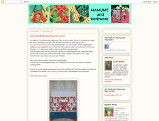 mamume.blogspot.com screenshot