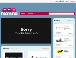 mamuna.com screenshot