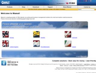 mamut.net screenshot
