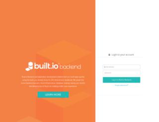 manage.built.io screenshot
