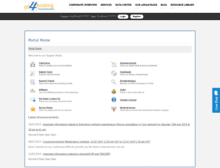 manage.computehost.com screenshot
