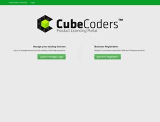 manage.cubecoders.com screenshot