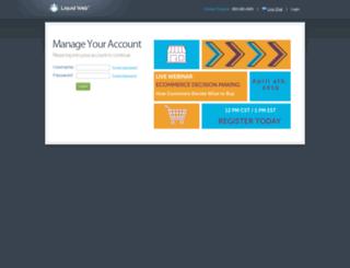 manage.liquidweb.com screenshot