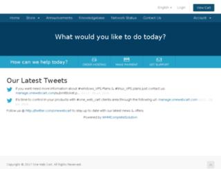 manage.onewebcart.com screenshot