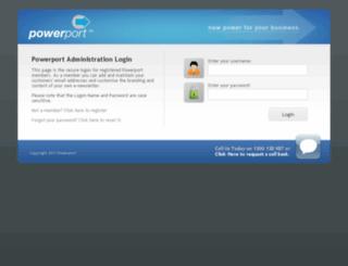 manage.powerport.com.au screenshot