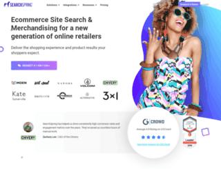 manage.searchspring.net screenshot