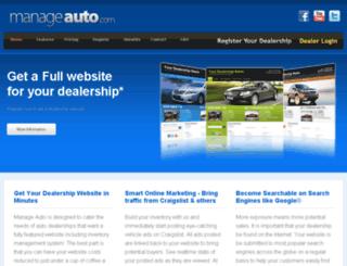 manageauto.com screenshot