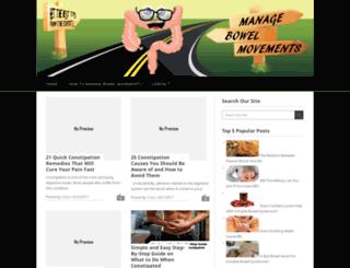 managebowelmovements.com screenshot