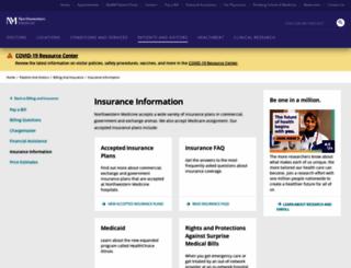 managedcare.nm.org screenshot