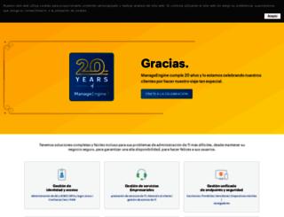 manageengine.mx screenshot