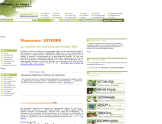 management-integre.com screenshot