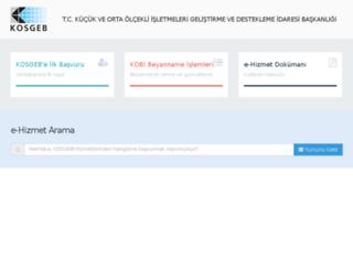 management.kosgeb.gov.tr screenshot