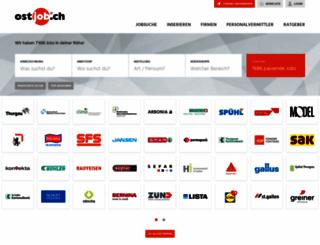 management.ostjob.ch screenshot