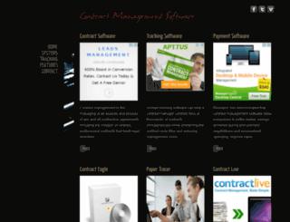 managementcontractsoftware.com screenshot
