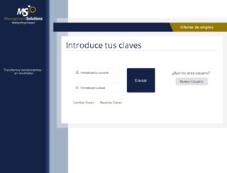 managementsolutions.infoempleo.com screenshot