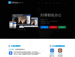 manager.gleasy.com screenshot
