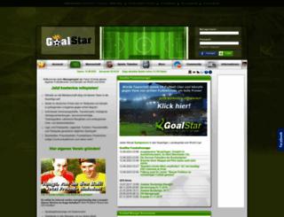 manager.goalstar.de screenshot