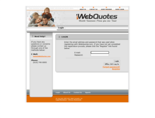 manager.iwebquotes.com screenshot
