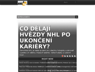 manager.nhlpro.cz screenshot