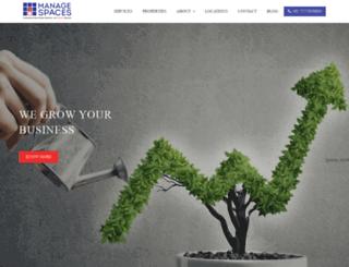 managespaces.com screenshot