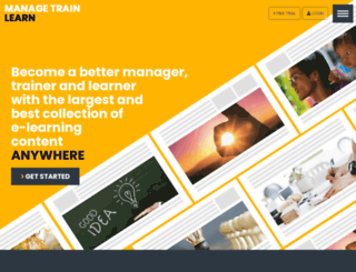 managetrainlearn.com screenshot