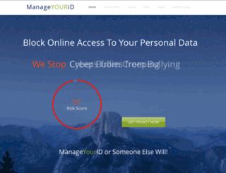 manageurid.com screenshot