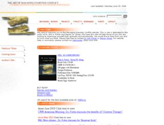 managingeverydayconflict.com screenshot