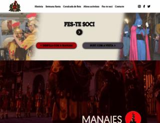 manaies.girona.com screenshot