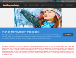 manalihoneymoonpackages.org screenshot