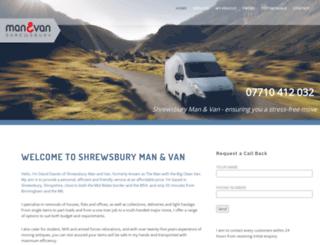manandvanshrewsbury.co.uk screenshot