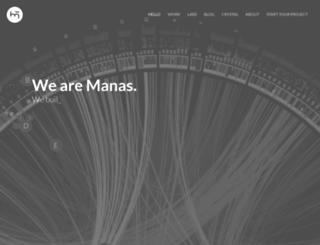 manas.com.ar screenshot