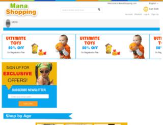 manashopping.com screenshot