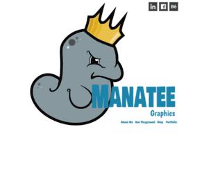 manatee.neocities.org screenshot