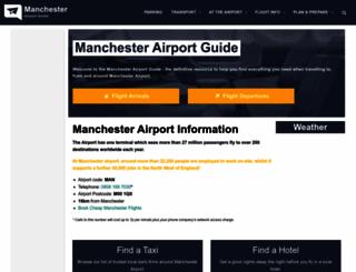 manchester-airport-guide.co.uk screenshot