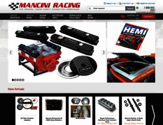 manciniracing.com screenshot