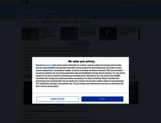 mancitynews.com screenshot