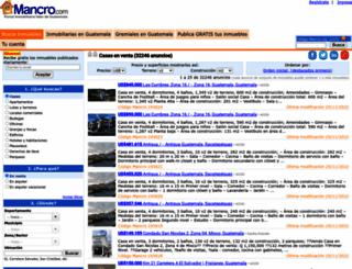 mancro.com screenshot