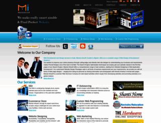 mandainfosoft.com screenshot