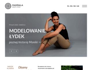 mandalaclinic.pl screenshot