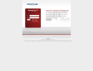 mandan.aesoponline.com screenshot