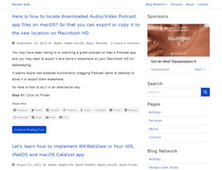 mandarapte.com screenshot