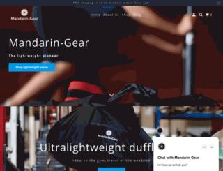 mandarin-gear.com screenshot