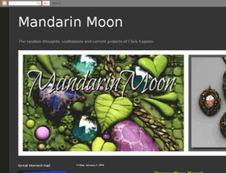 mandarinmoonart.blogspot.com screenshot