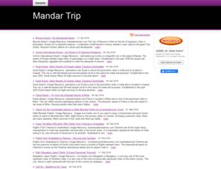mandartrip.beepworld.de screenshot