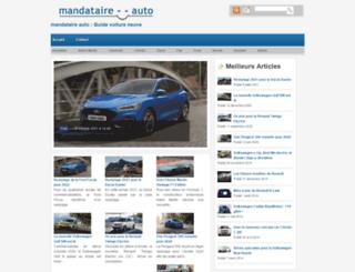 mandataire--auto.fr screenshot