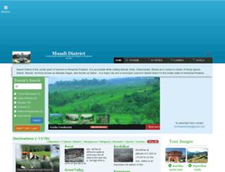 mandi.hptours.org screenshot