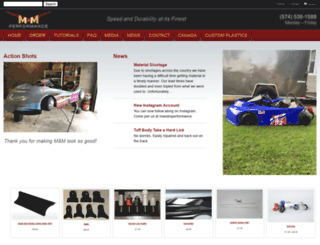 mandmperformance.com screenshot